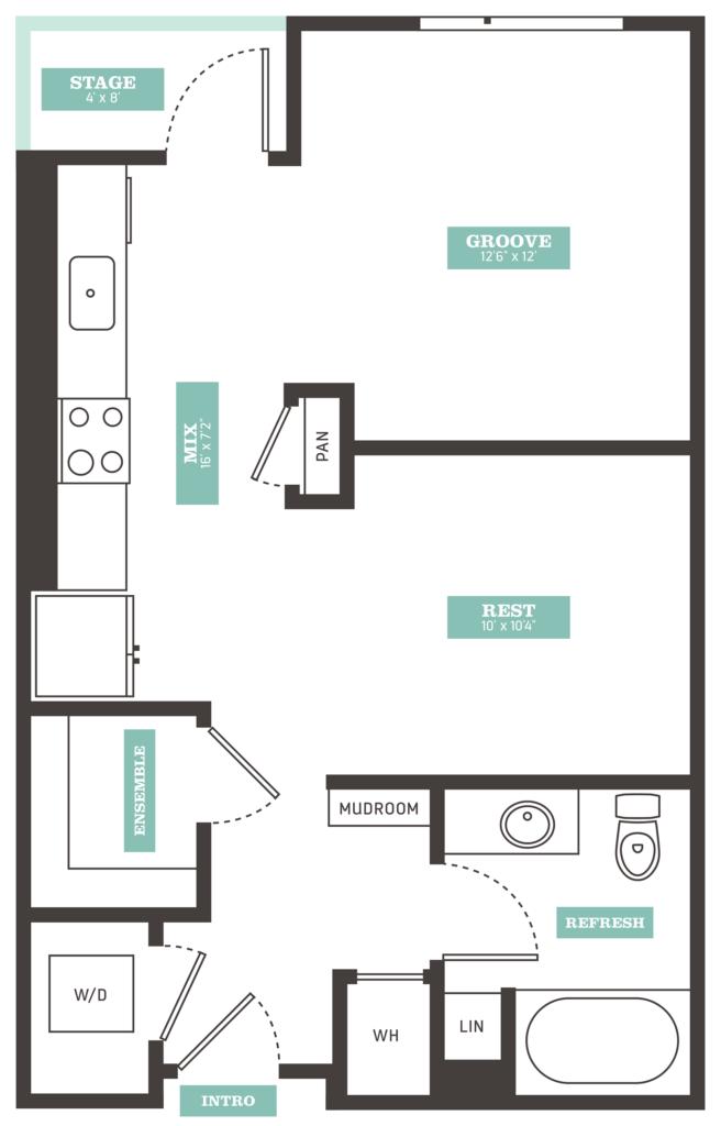 Denver Studio Apartments