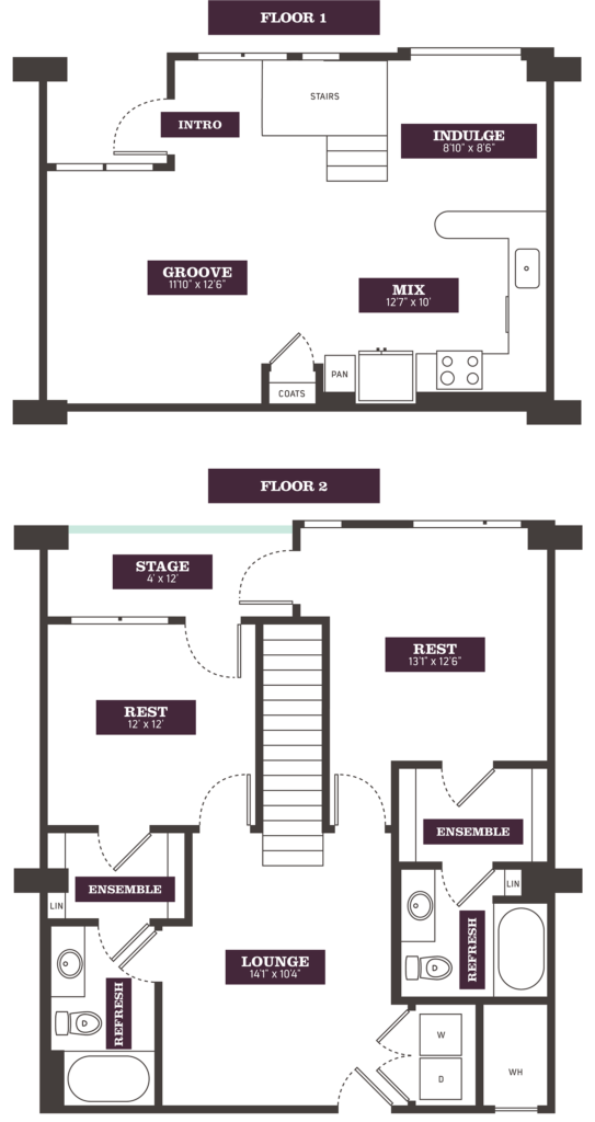Townhouse Apartments in Denver