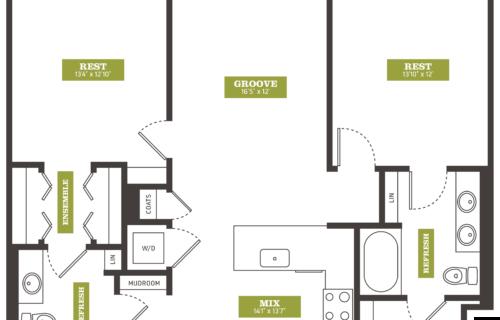 two-bedroom Denver apartments