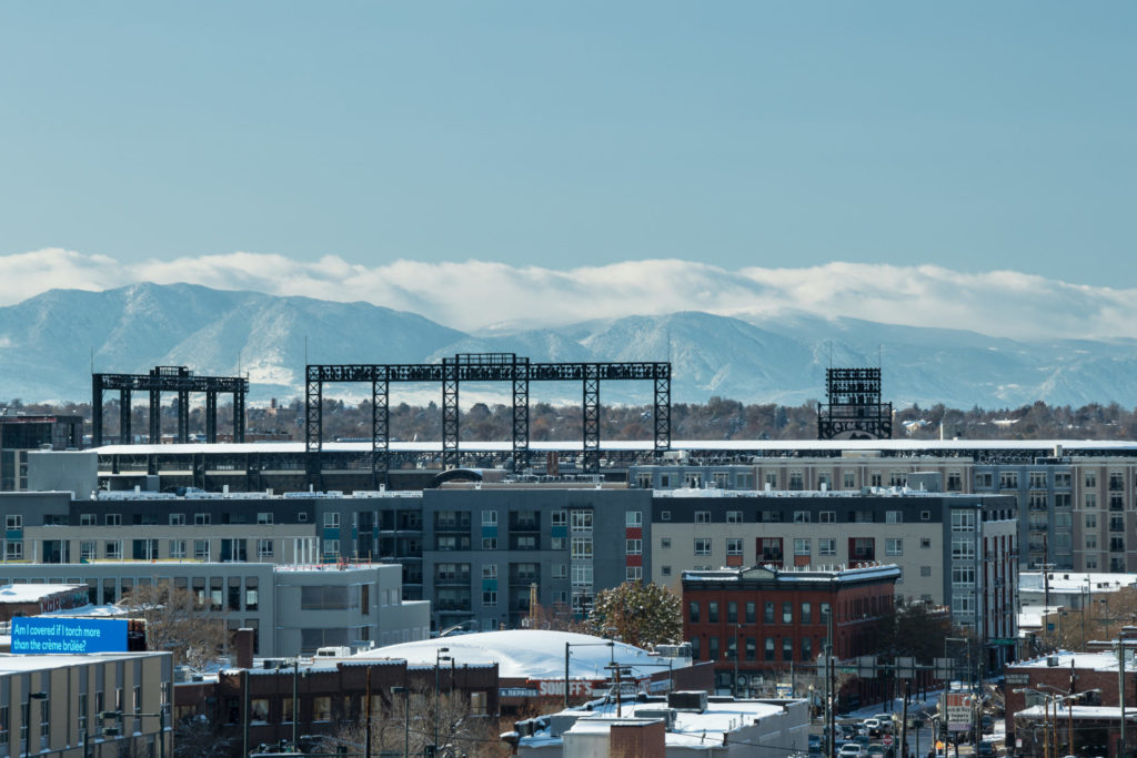 denver skyline from alexan arapahoe square - Relax and Have Fun