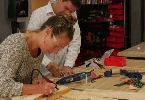 Woodworking near Alexan Arapahoe Square - Get Crafty in Denver